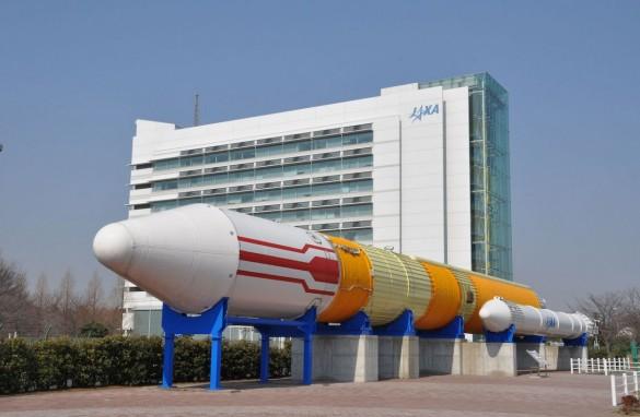 JAXA 筑波宇宙センター ロケット広場