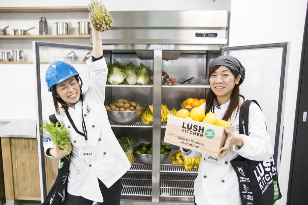 LUSH Kitchen Tour(ラッシュキッチン ツアー)