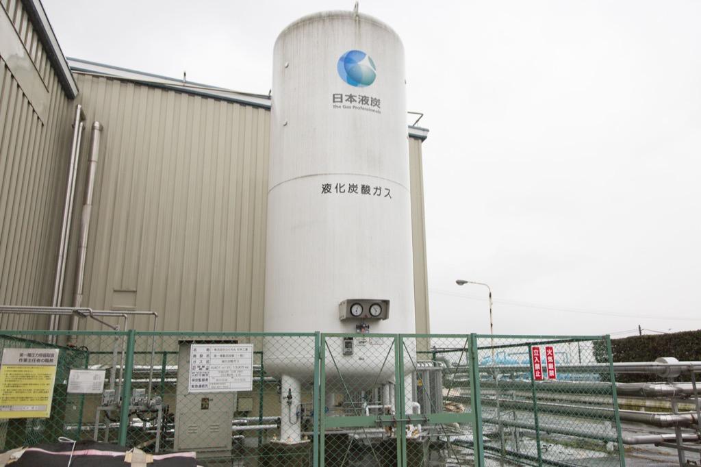 炭酸ガスタンク