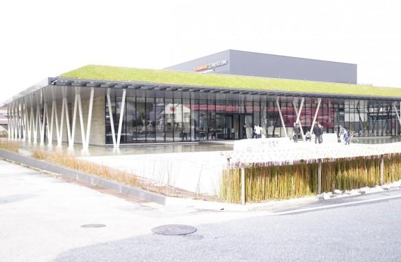 ヤンマーミュージアム外観