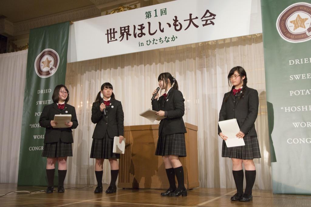 大成女子校プレゼンテーション4(お芝居もある)
