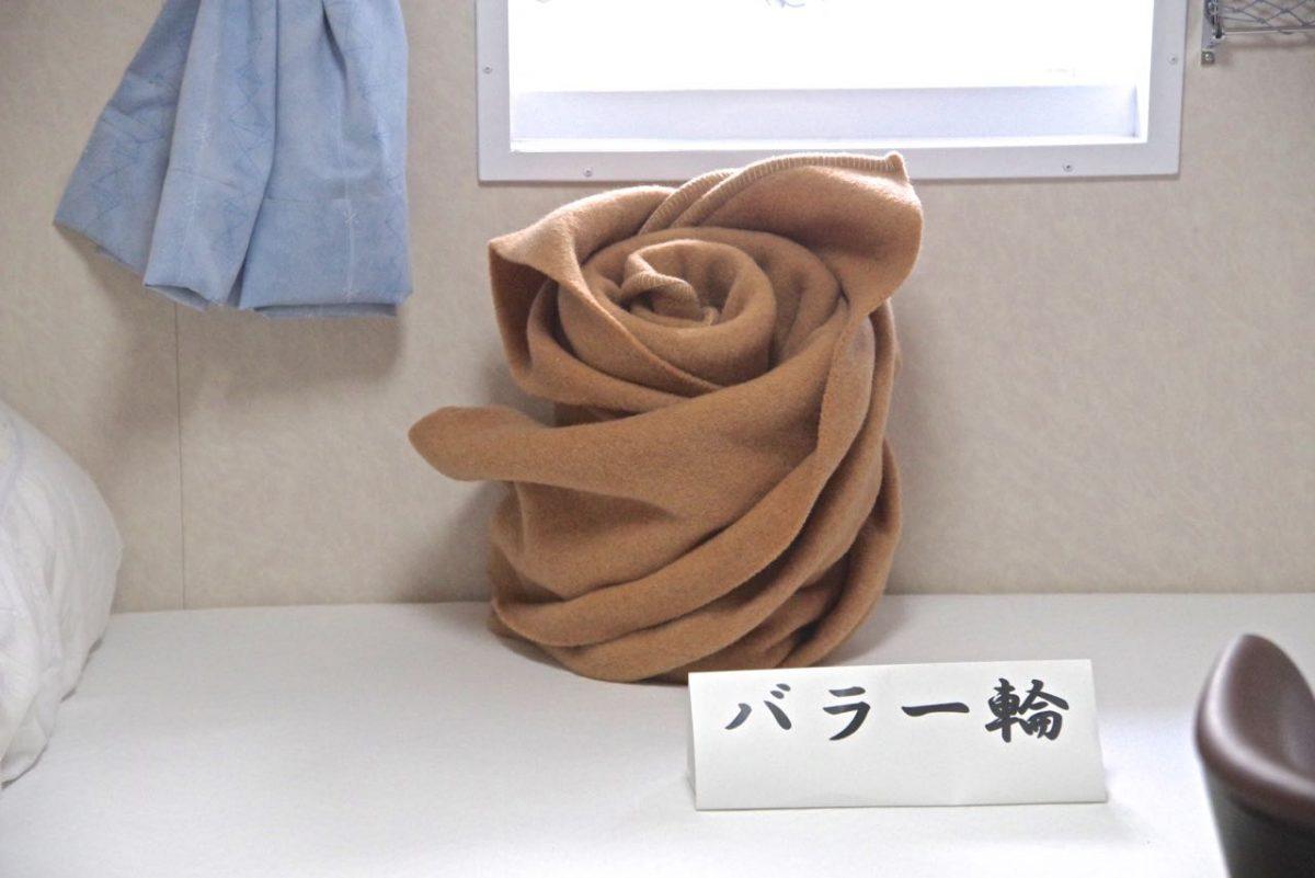 毛布アートバラ