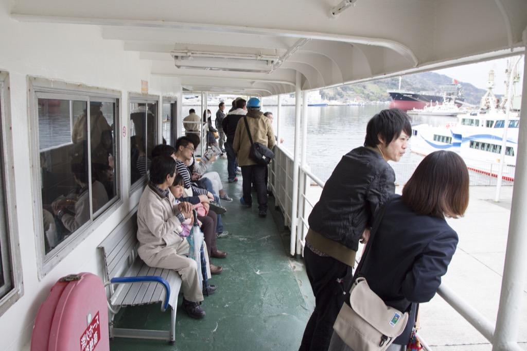 乗客もたくさん