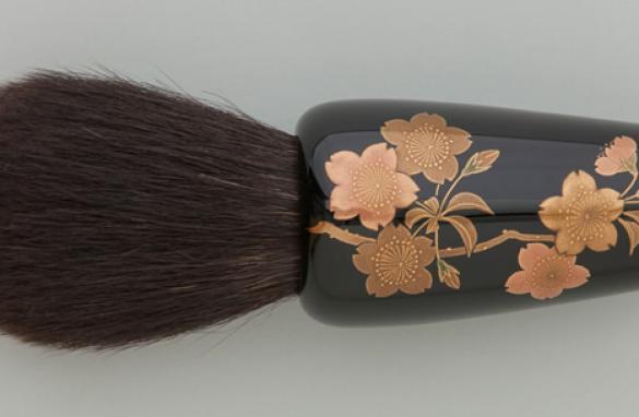 熊野筆×輪島塗の化粧筆