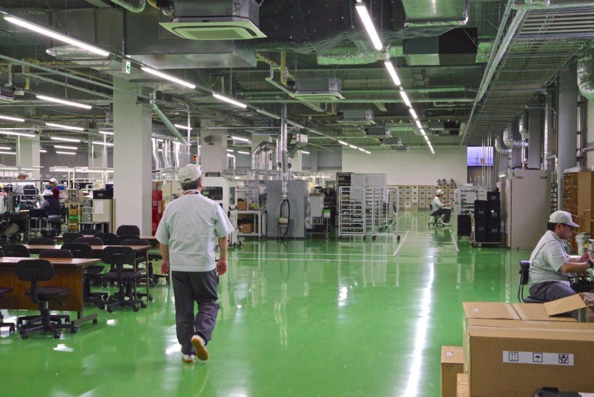 工場の中イメージ