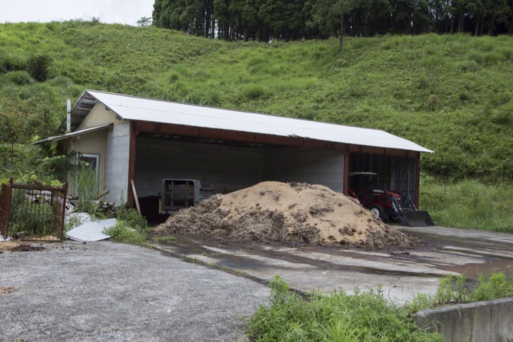 畜舎用の堆肥
