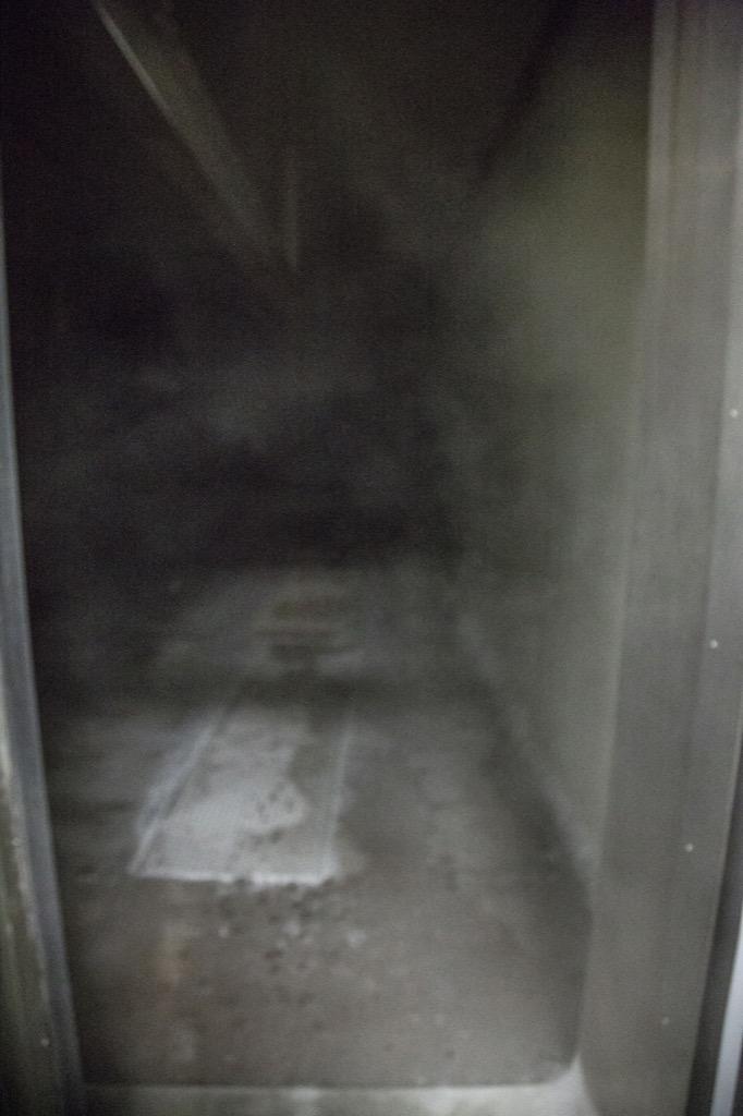 凍結庫の中