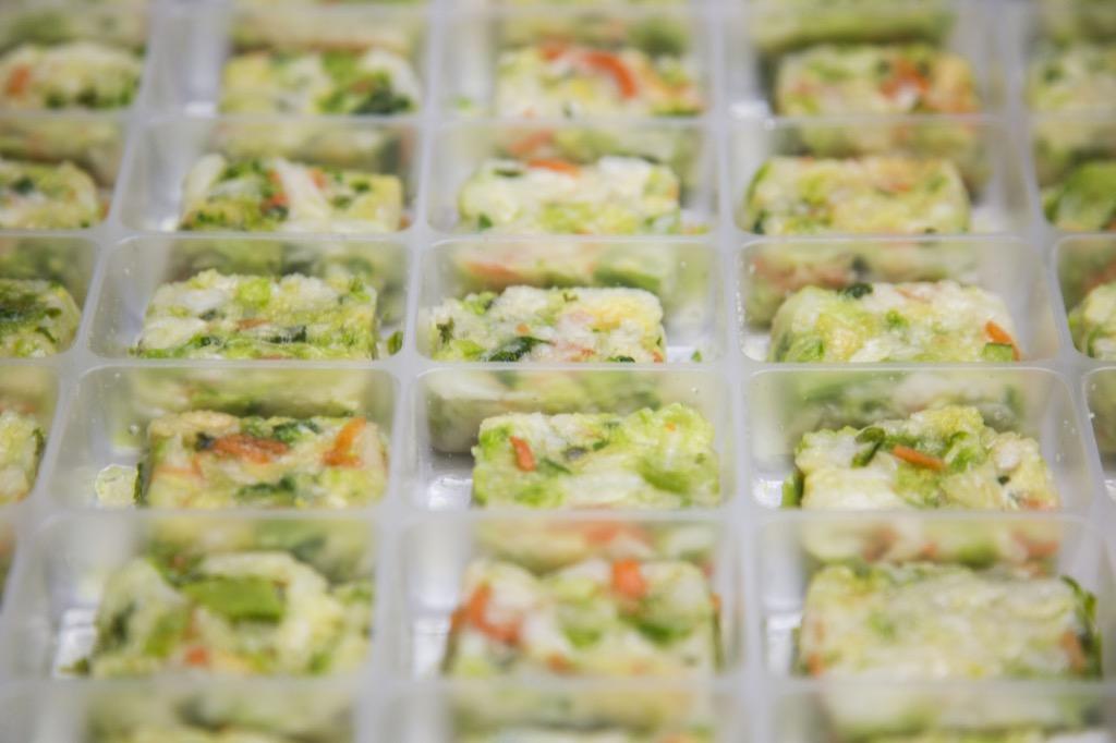 野菜スープ作業