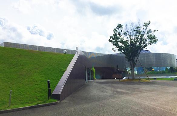 資生堂 アートハウス入口