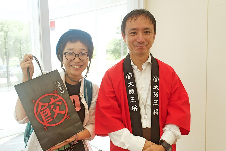 そして、ご案内頂いた松本さんにも感謝ですっ!