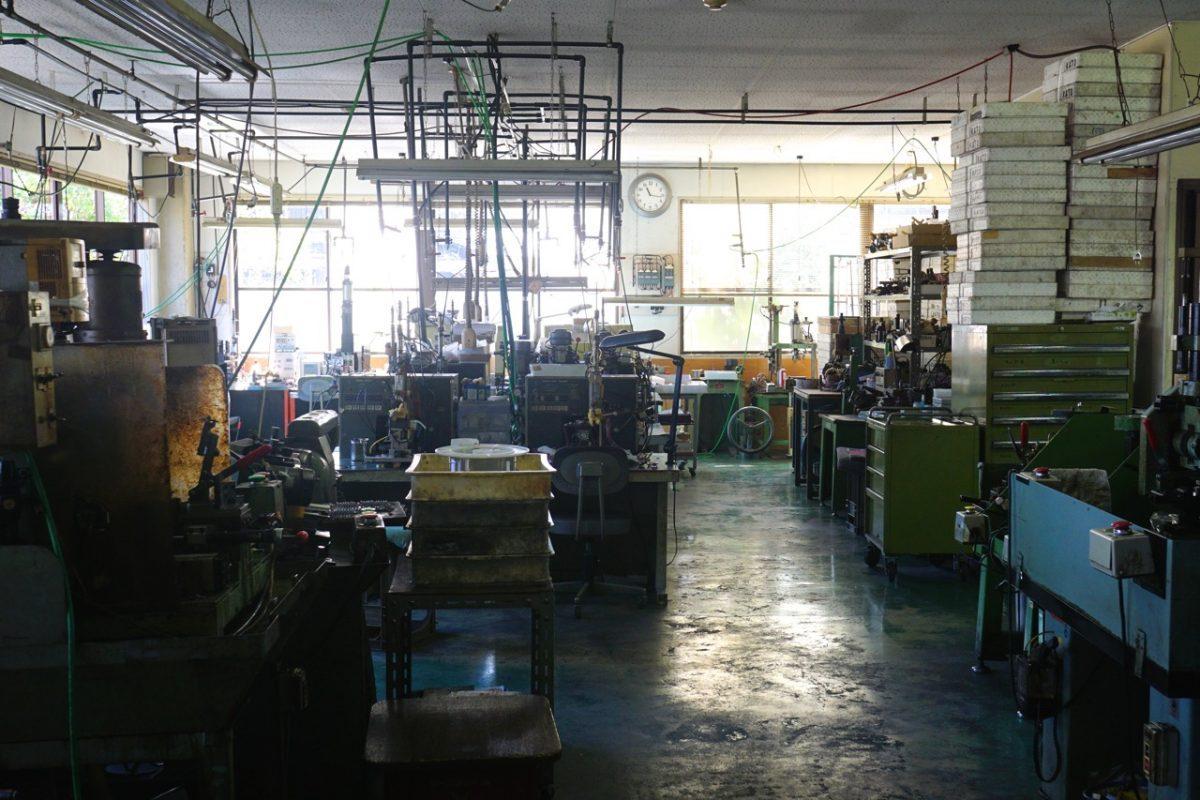 加藤製作所工場内