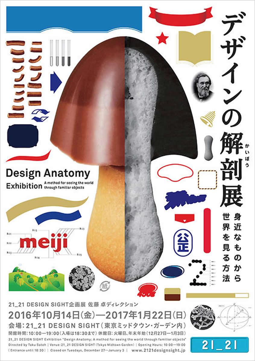 「デザインの解剖展: 身近なものから世界を見る方法」