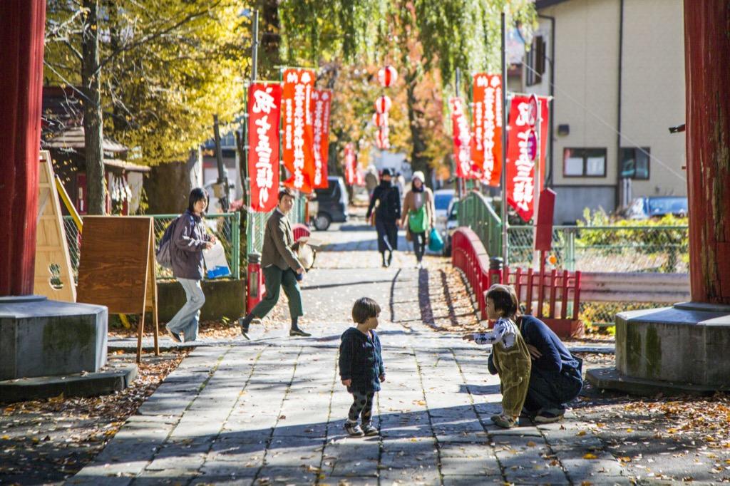 神社の参道