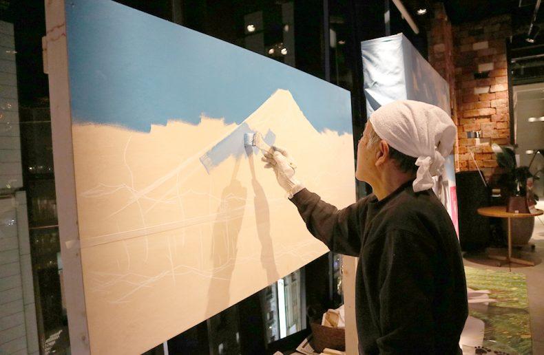 今年も丸山さんの富士山!