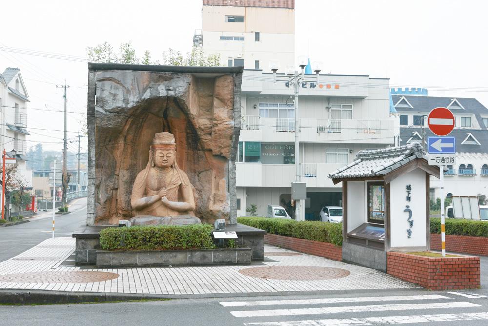 磨崖仏レプリカ