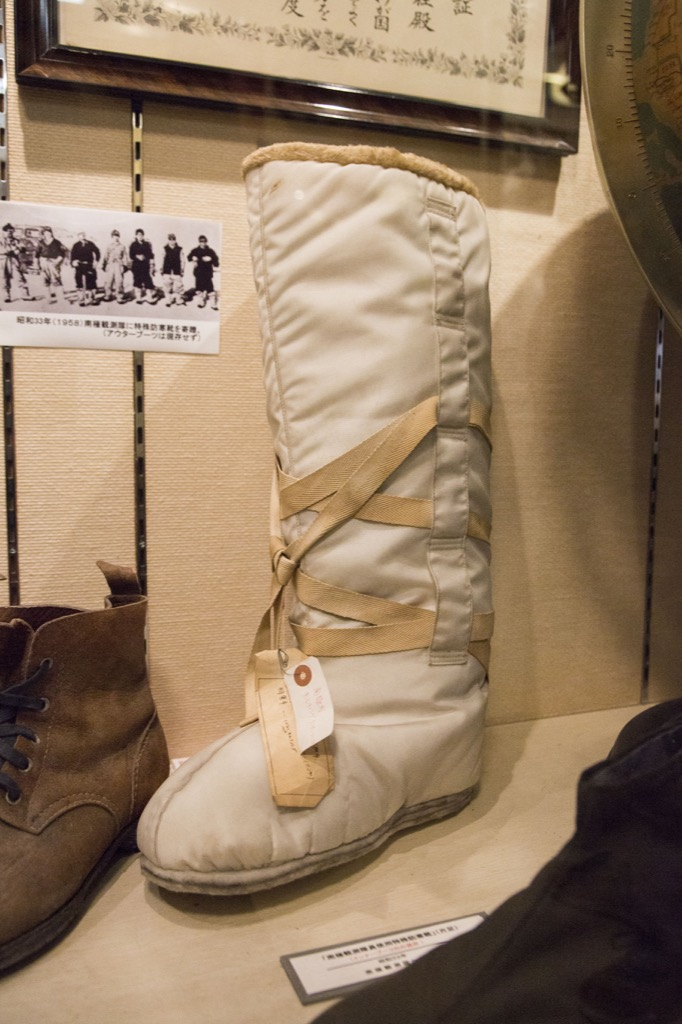南極探検隊の靴