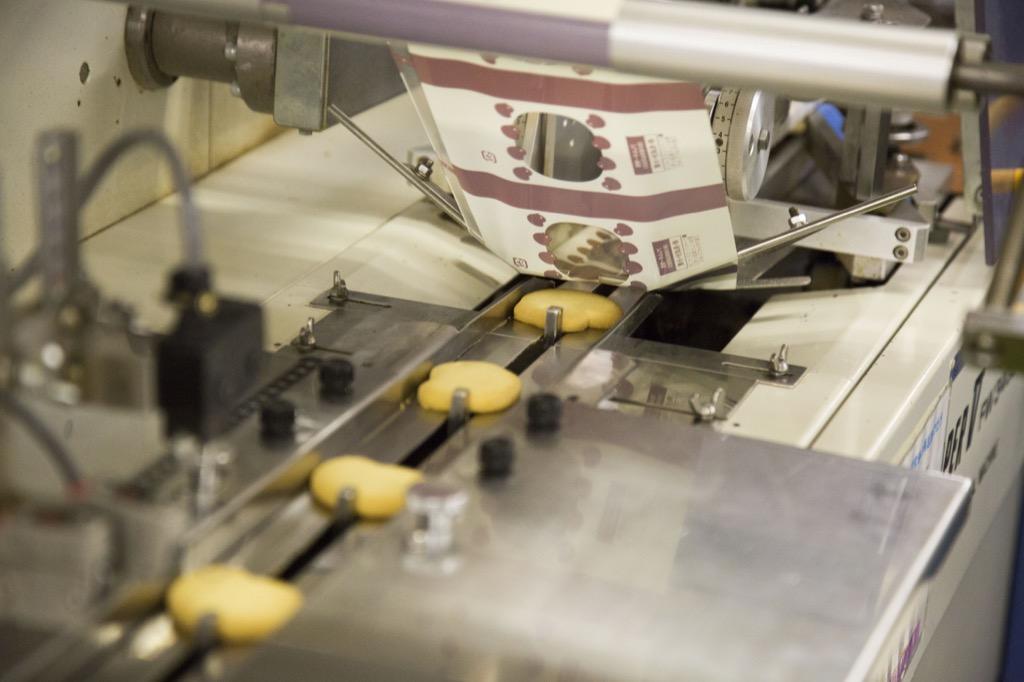 個包装の機械