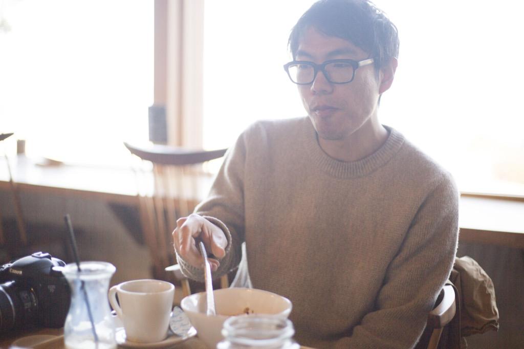 アースカフェ朝食
