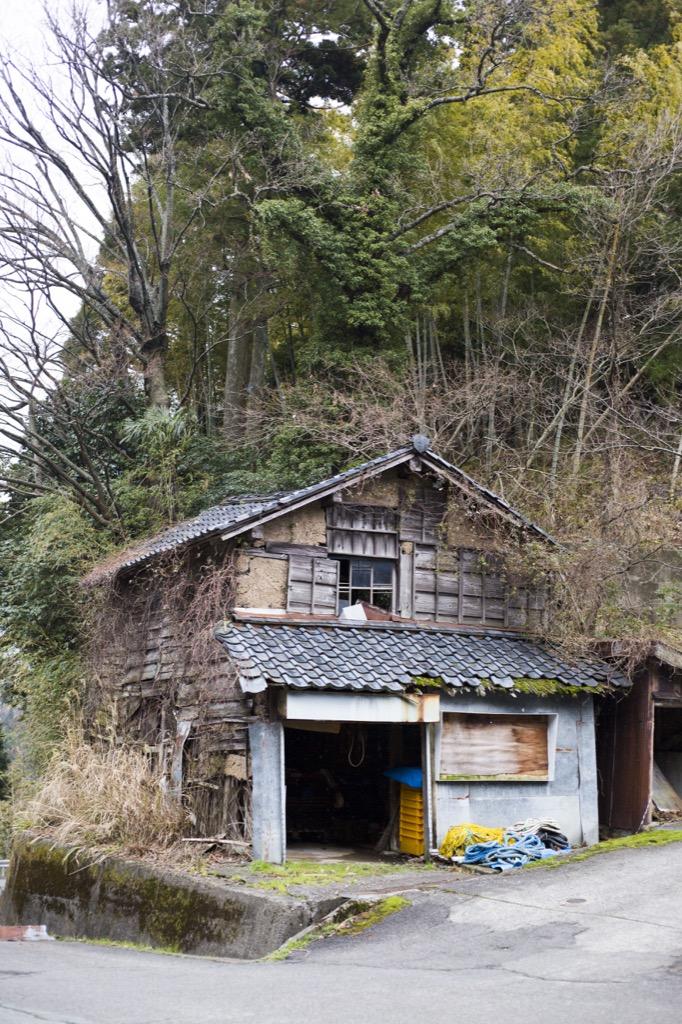 上の集落のお家