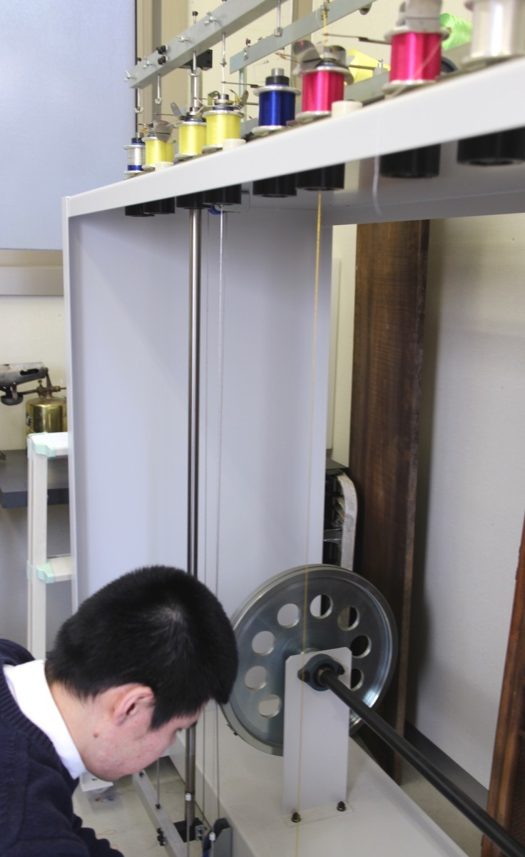 加賀水引の製造工程2