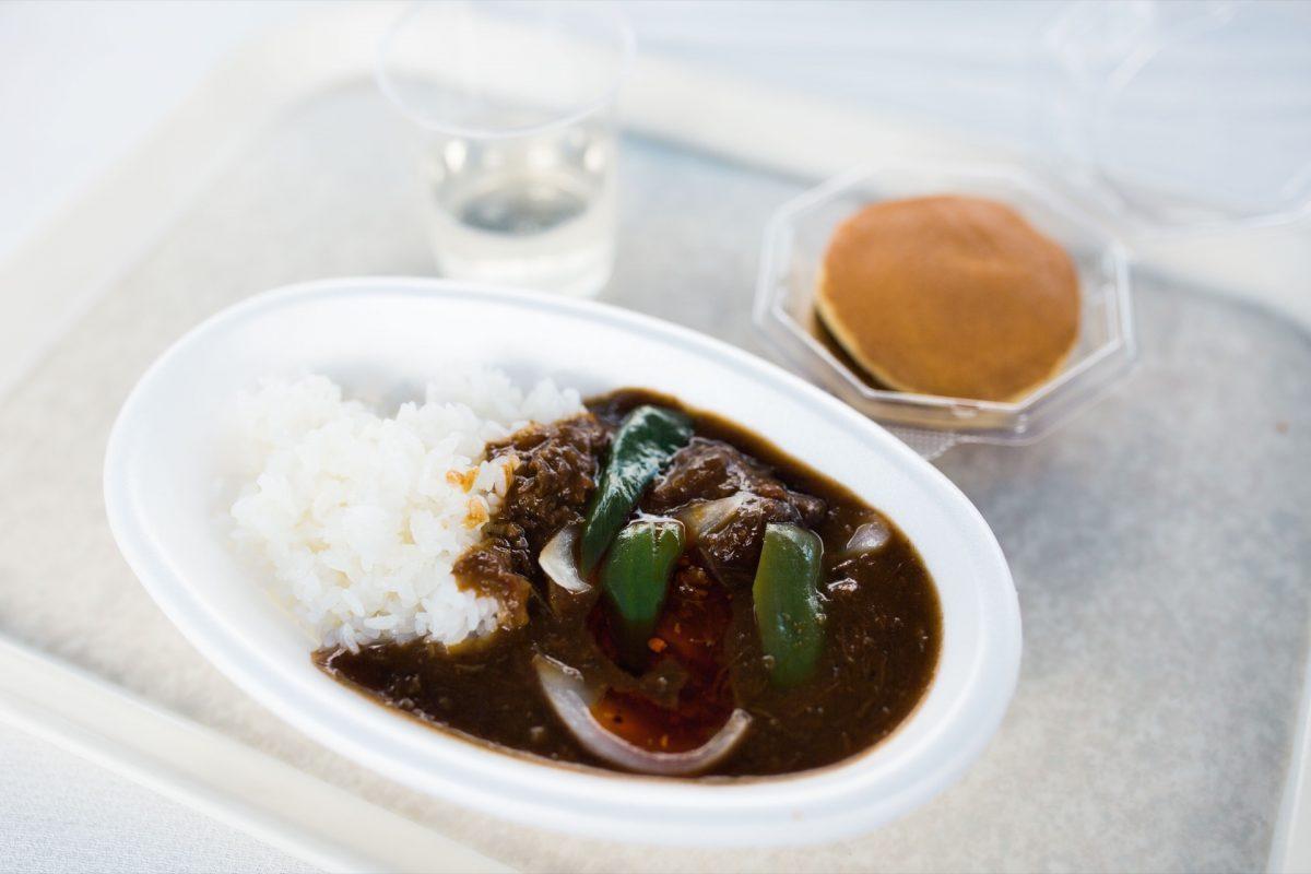 ハタフェス_カレーとどら焼きと日本酒