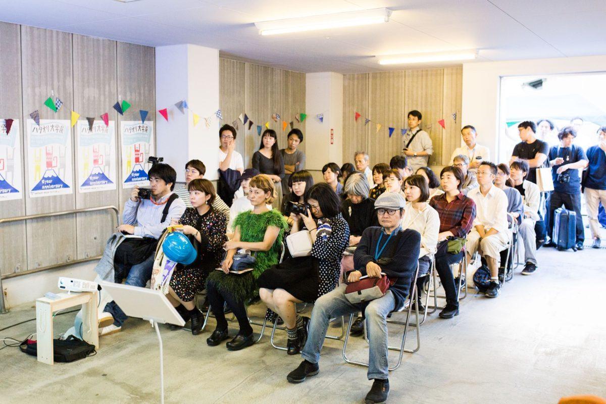ハタフェス_五十嵐さんと鈴木マサルさんのトークセッションを聞く