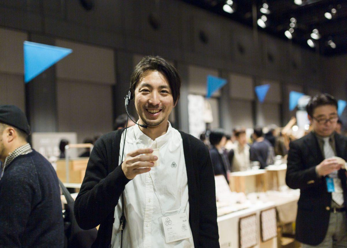 ててて往来市共同主催者/発起人のプランニングディレクター永田宙郷さん